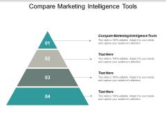 Compare Marketing Intelligence Tools Ppt PowerPoint Presentation Professional Topics Cpb