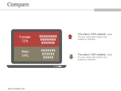 Compare Ppt PowerPoint Presentation Visual Aids