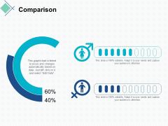comparison male female ppt powerpoint presentation show professional