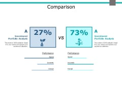 Comparison Marketing Business Ppt PowerPoint Presentation Icon Structure