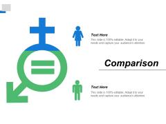 Comparison Marketing Ppt PowerPoint Presentation Infographics Icon