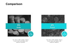 Comparison Ppt PowerPoint Presentation Icon Structure
