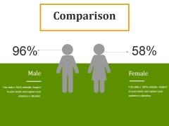 Comparison Ppt PowerPoint Presentation Infographics Outfit