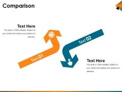 Comparison Ppt PowerPoint Presentation Layouts Format Ideas