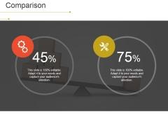 Comparison Ppt PowerPoint Presentation Outline Good