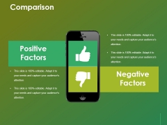 Comparison Ppt Powerpoint Presentation Show Templates