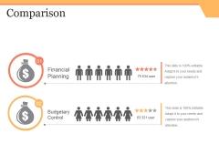 Comparison Ppt PowerPoint Presentation Slides Example Introduction