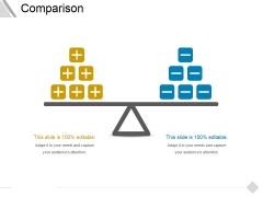 Comparison Ppt PowerPoint Presentation Slides Graphics Template