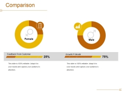 Comparison Ppt PowerPoint Presentation Summary Styles