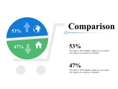 Comparison Slide Compare Ppt PowerPoint Presentation Show Influencers