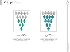 Comparison Slide Ppt PowerPoint Presentation Background Images