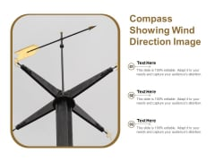 Compass Showing Wind Direction Image Ppt PowerPoint Presentation Model Templates PDF