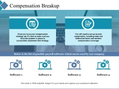 Compensation Breakup Slide2 Ppt PowerPoint Presentation Model Elements
