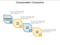 Compensation Comparison Ppt PowerPoint Presentation Show Elements Cpb