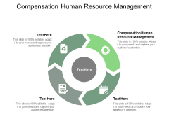 Compensation Human Resource Management Ppt PowerPoint Presentation Professional Template Cpb