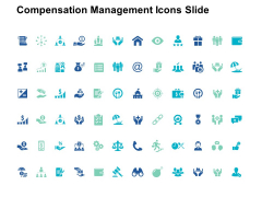 Compensation Management Icons Slide Dollar Ppt PowerPoint Presentation Introduction