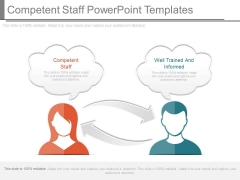 Competent Staff Powerpoint Templates