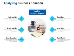 Competition In Market Analysing Business Situation Ppt Infographic Template Deck PDF Ppt Slides Sample PDF