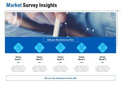 Competition In Market Market Survey Insights Ppt Portfolio Ideas PDF