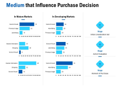 Competition In Market Medium That Influence Purchase Decision Ppt Layouts Information PDF
