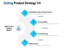 Competition In Market Setting Product Strategy Solution Ppt Infographics Format Ideas PDF
