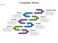 Competition Market Ppt PowerPoint Presentation Model Icons Cpb