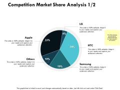 Competition Market Share Analysis Edit Data Ppt PowerPoint Presentation Ideas Slide