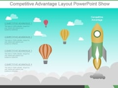 Competitive Advantage Layout Powerpoint Show