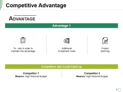 Competitive Advantage Ppt PowerPoint Presentation File Summary