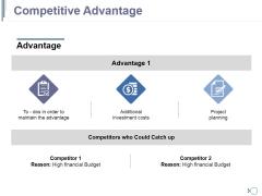 Competitive Advantage Ppt PowerPoint Presentation Inspiration Portfolio