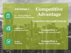 Competitive Advantage Ppt PowerPoint Presentation Outline Inspiration