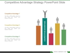 Competitive Advantage Strategy Powerpoint Slide