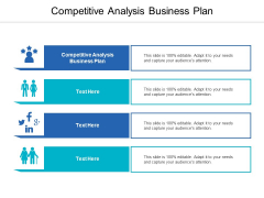 Competitive Analysis Business Plan Ppt PowerPoint Presentation Portfolio Structure Cpb