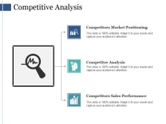 Competitive Analysis Ppt PowerPoint Presentation Inspiration Elements