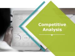 Competitive Analysis Ppt PowerPoint Presentation Portfolio Good