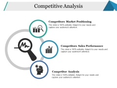 Competitive Analysis Ppt PowerPoint Presentation Slides Grid