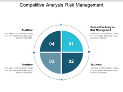 Competitive Analysis Risk Management Ppt PowerPoint Presentation Infographics Styles Cpb