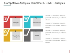 Competitive Analysis Swot Analysis Ppt PowerPoint Presentation File Slides