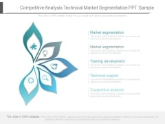 Competitive Analysis Technical Market Segmentation Ppt Sample