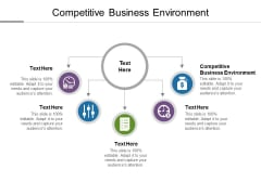 Competitive Business Environment Ppt PowerPoint Presentation Infographics Samples Cpb
