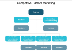 Competitive Factors Marketing Ppt PowerPoint Presentation Styles Model Cpb