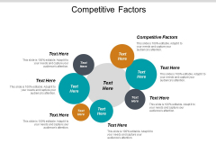 Competitive Factors Ppt PowerPoint Presentation Ideas File Formats Cpb