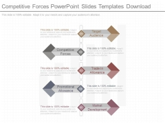 Competitive Forces Powerpoint Slides Templates Download