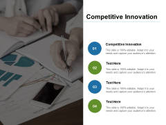 Competitive Innovation Ppt PowerPoint Presentation Icon Gridlines Cpb Pdf
