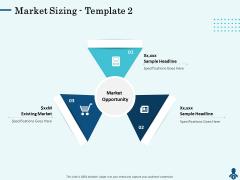 Competitive Intelligence Frameworks Market Sizing Sample Pictures PDF