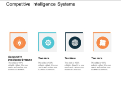 Competitive Intelligence Systems Ppt Powerpoint Presentation File Icons Cpb