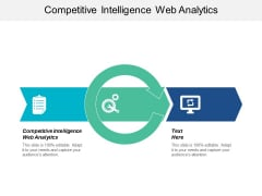Competitive Intelligence Web Analytics Ppt PowerPoint Presentation Slides Visual Aids Cpb
