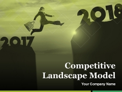 Competitive Landscape Model Ppt PowerPoint Presentation Complete Deck With Slides