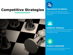 Competitive Strategies Ppt PowerPoint Presentation Model Diagrams