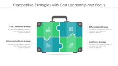 Competitive Strategies With Cost Leadership And Focus Ppt Infographic Template Outfit PDF